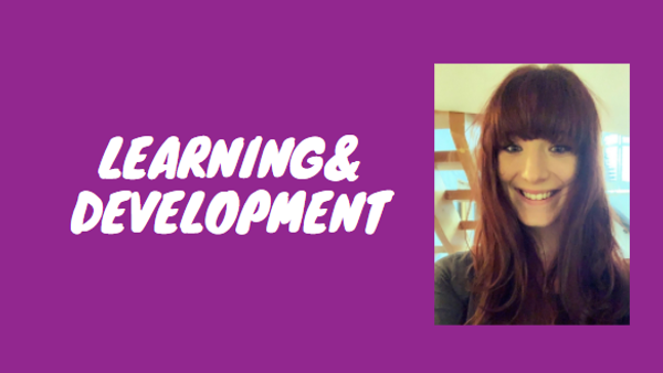 Championing learning & development